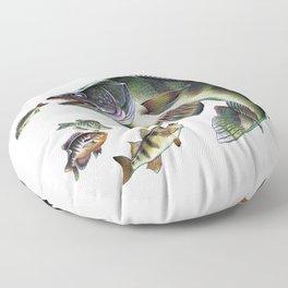 Walleye Floor Pillow