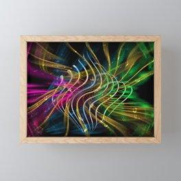 Concept abstract : Chances Framed Mini Art Print