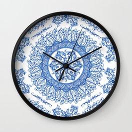 Mandaleaf - Portuguese Wall Clock