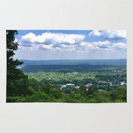 Scenic overlook of Hot Springs Arkansas Rug