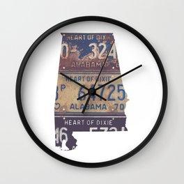 Vintage Alabama Wall Clock