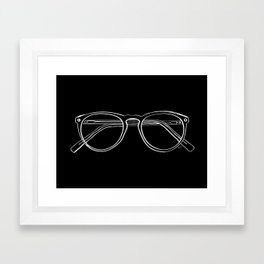Spectacles (Inverse) Framed Art Print