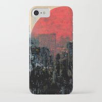 sunshine iPhone & iPod Cases featuring Last Sunshine by Fernando Vieira