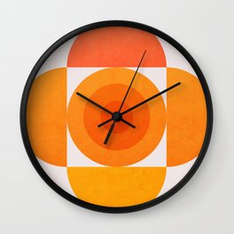 Abstraction_SUN_Minimalism Wall Clock