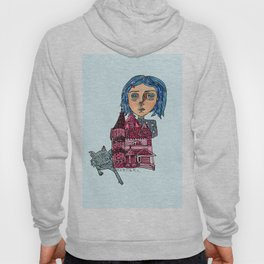 Coraline and Kitty Hoody