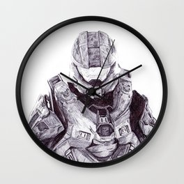 Master Chief Wall Clock