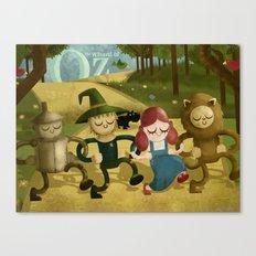 Wizard of Oz fan art Canvas Print