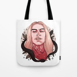 Ave Satanas Tote Bag