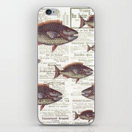 Fishing News iPhone Skin