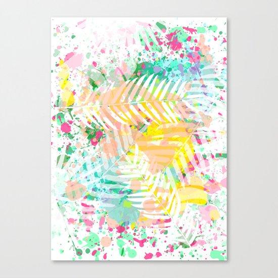 Tropical Juice Canvas Print