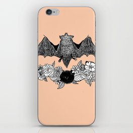 Batty (color) iPhone Skin