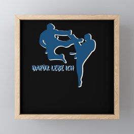 Karate Framed Mini Art Print