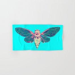 Flying Cicada Hand & Bath Towel