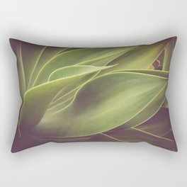 Garden Dreaming Rectangular Pillow