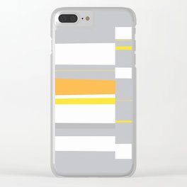 Mosaic Single 4 #minimalism #abstract #sabidussi #society6 Clear iPhone Case