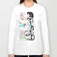 sunglasses Long Sleeve T-shirts featuring sunglasses by Emily Tumen