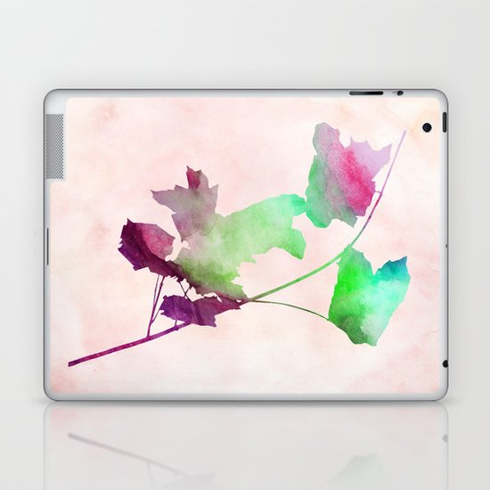 Maple_Watercolor2 by Jacqueline and Garima Laptop & iPad Skin