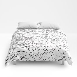 Planet Surface Circle Comforters