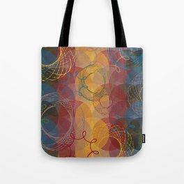 Vintage Spirals Tote Bag