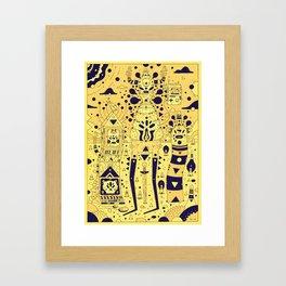 banana squad Framed Art Print