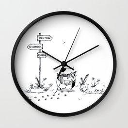 Cat Adventure Wall Clock