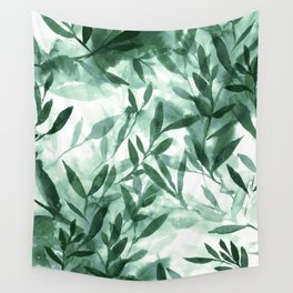 Changes Hunter Green Wall Tapestry