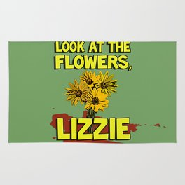 Look At The Flowers, Lizzie#2 Rug