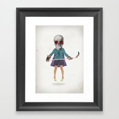 Superhero #9 Framed Art Print