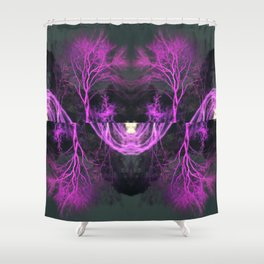 Feel Like Somebody Watching Me Shower Curtain