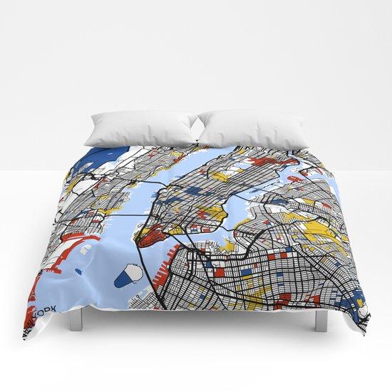 New York Mondrian Comforters
