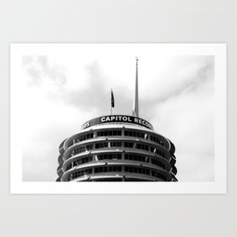 Capital Records Art Print