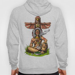 Native American Chief Stoner Hoody