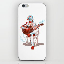 Me and The Devil Blues iPhone Skin