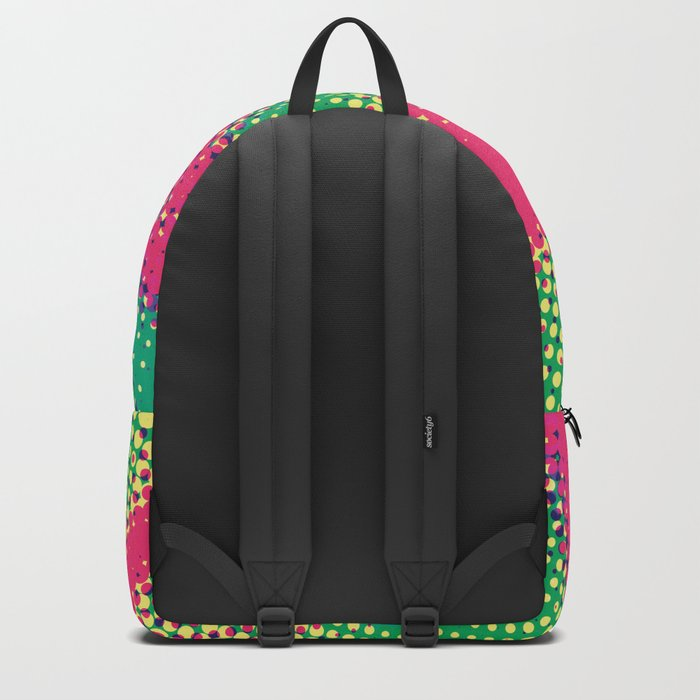 Abstract Pop Art Halftone Dots Backpack