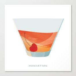 Cocktail Hour: Manhattan Canvas Print