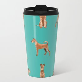 Irish Terrier dog breed pet gifts must have terriers Travel Mug