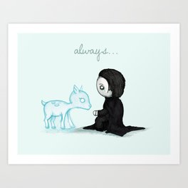 Always... Art Print