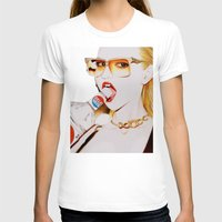 vodka T-shirts featuring Feisty Vodka Girl by Liz Slome
