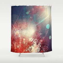 Dream Time Outside Shower Curtain