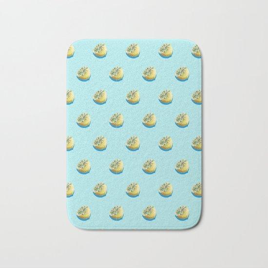 Lemonade Blue Bath Mat
