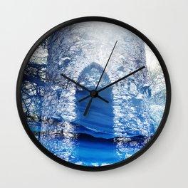 Blue Castle Wall Clock