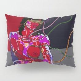 Jessica Biel 80s cyborg Pillow Sham