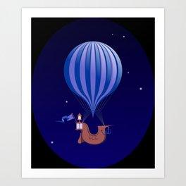 Aerostat Art Print
