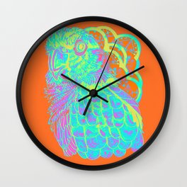 Spring Electric Conure Wall Clock