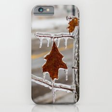 Frozen Red Leaf iPhone 6s Slim Case