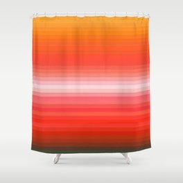 Re-Created Spectrum XIII by Robert S. Lee Shower Curtain