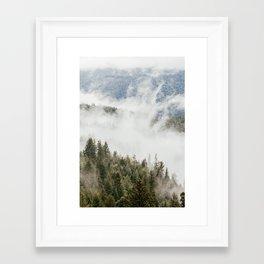 Mountain, Nature Photography, Wanderlust Framed Art Print