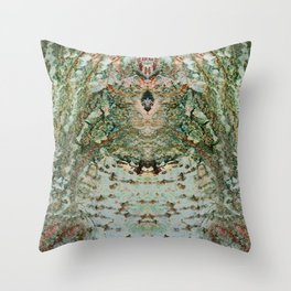 Tree Talk 2 Throw Pillow