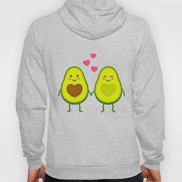 Cute avocados in love Hoody