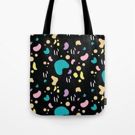 Black Jellybean Tote Bag